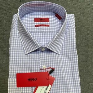 Hugo Boss Men's Long Sleeved Dress Shirt